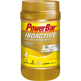 PowerBar Isoactive Isotonic Sports Drink Tub 600g, Lemon